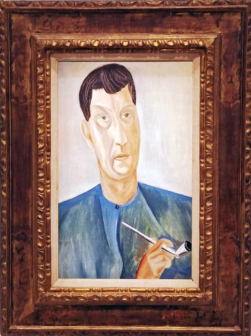 André Derain self - portrait from 1913-14.