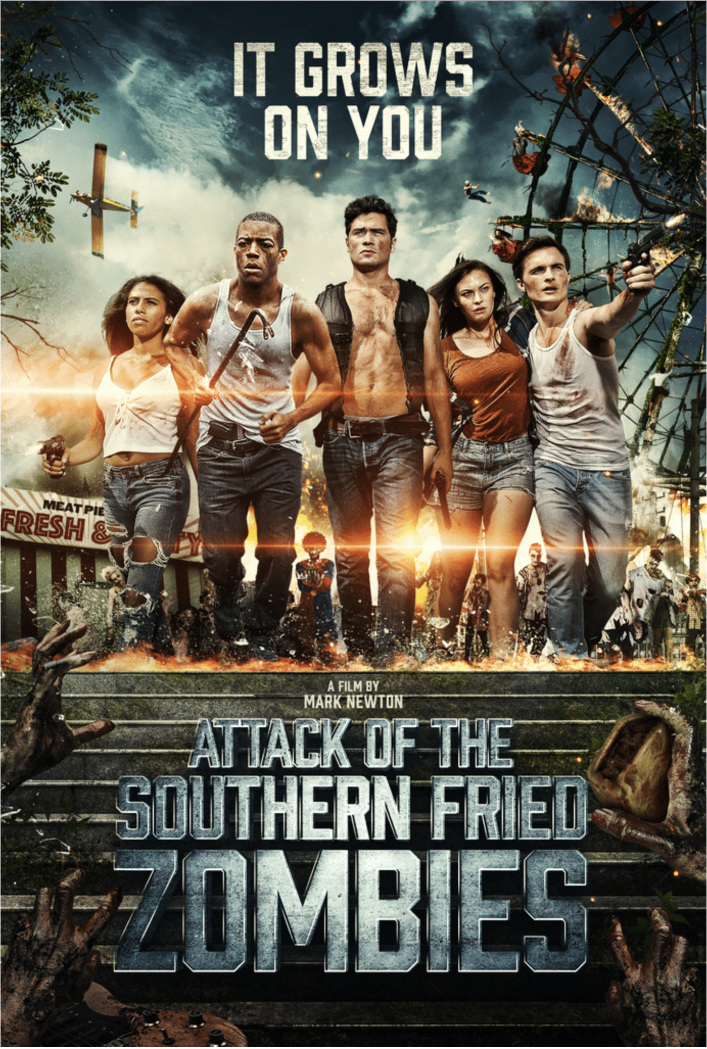 Attack Of The Southern Fried Zombies - Poster