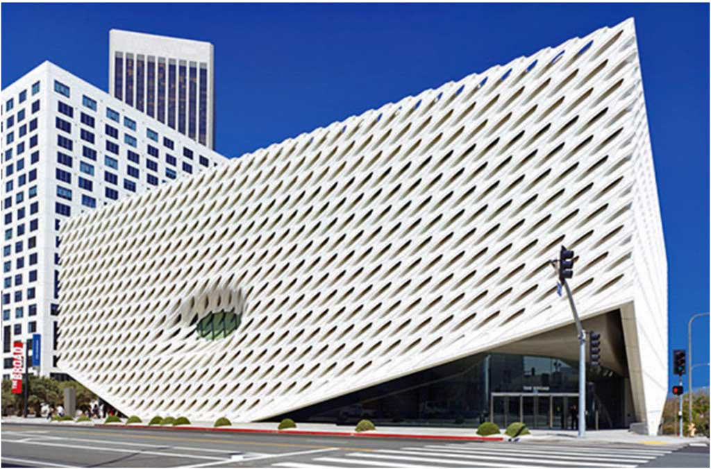 The Broad, (image from the Broad website)
