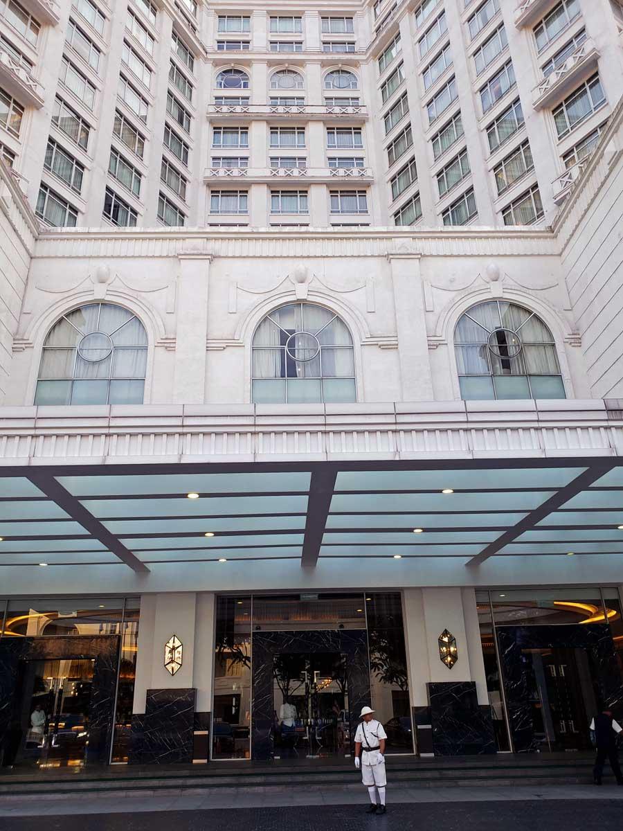 Hotel Majestic, Kuala Lumpur, Malaysia - main entrance.