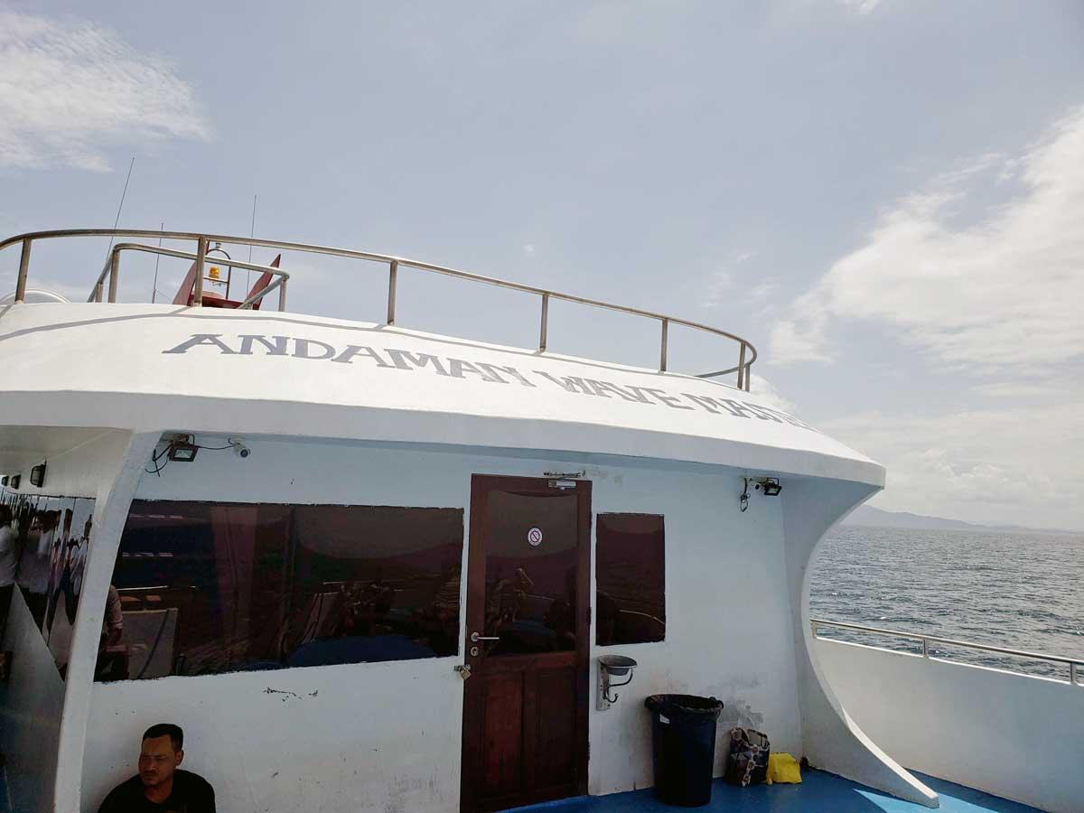 Andaman Sea Master Krabi - Phi Phi island.