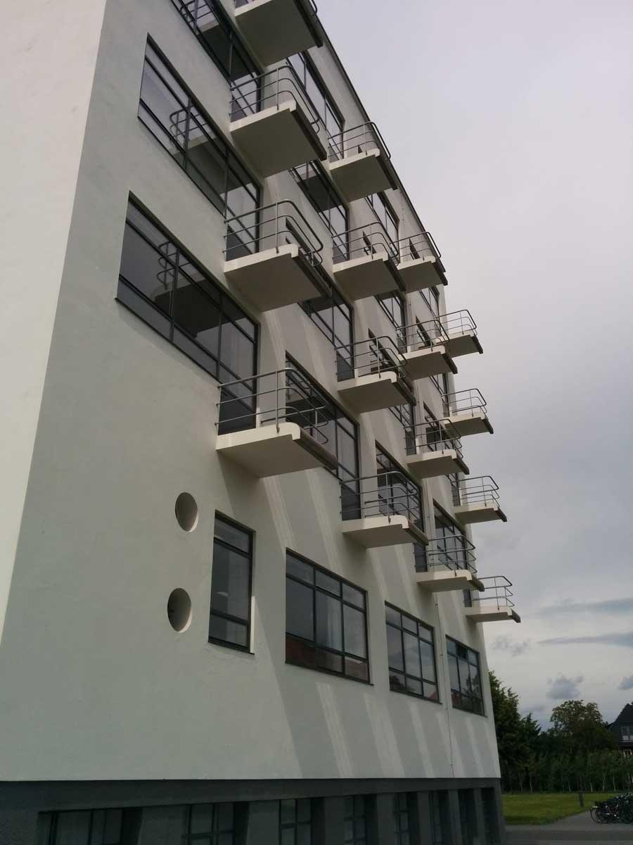 Bauhaus University Dessau Student housing.
