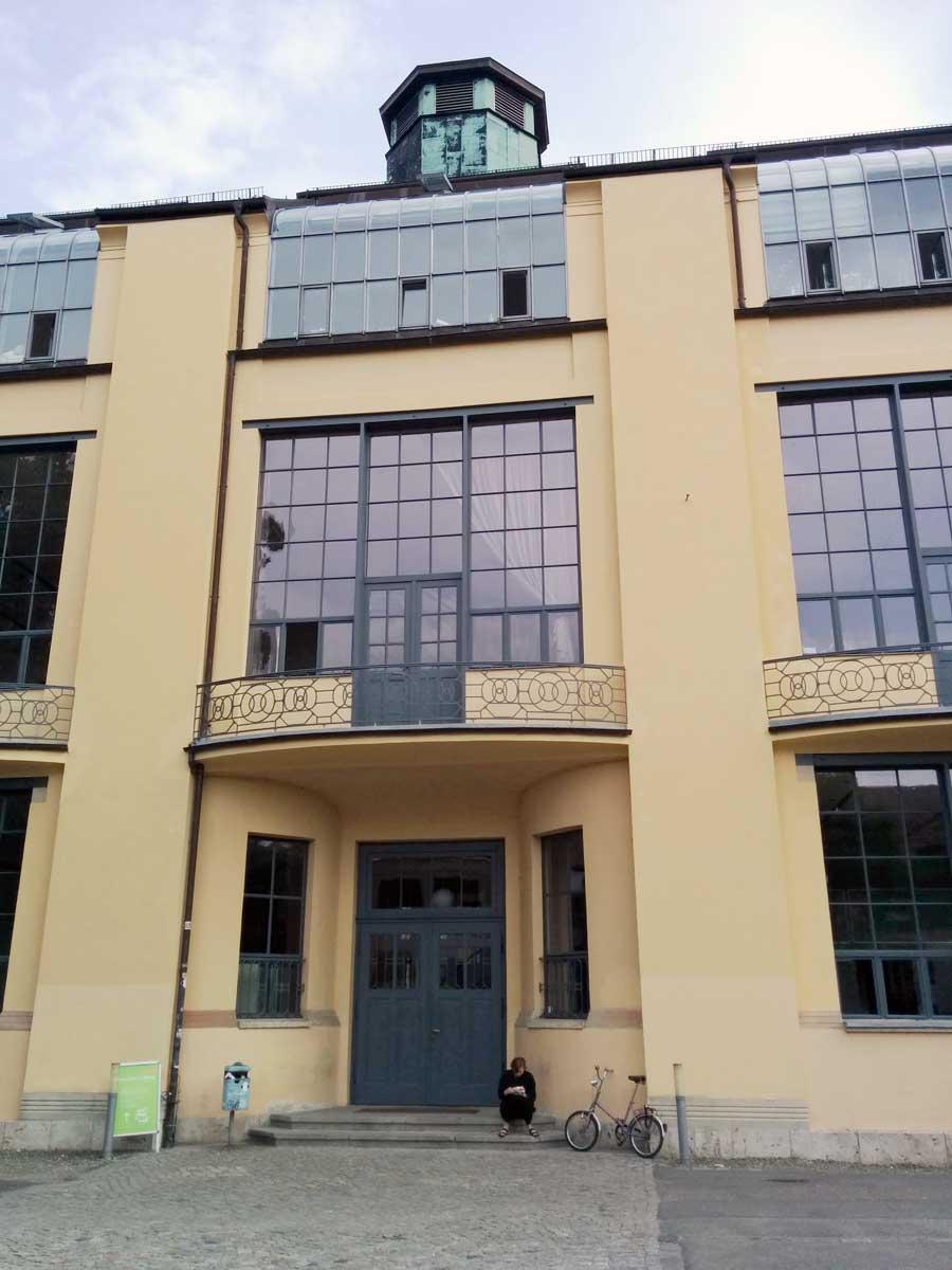 Bauhaus University Weimar main building.