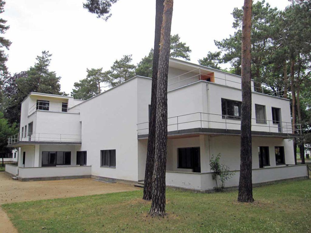 Meisterhauses in Dessau.