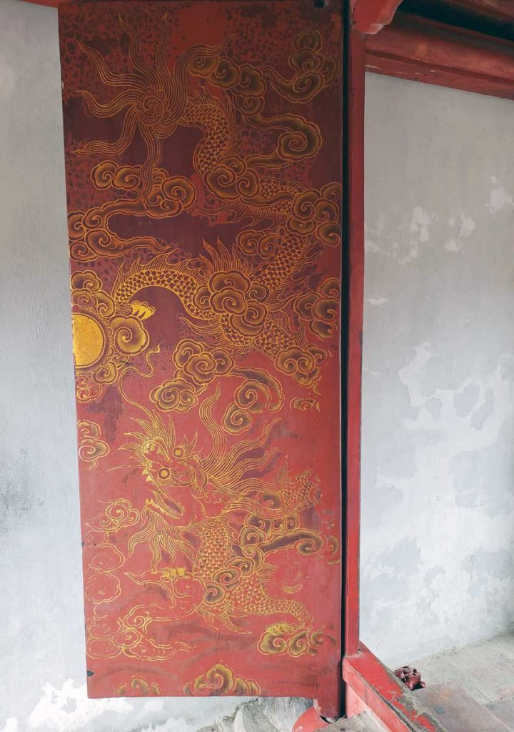 This is a detail of the gate of Great Synthesis door panel.