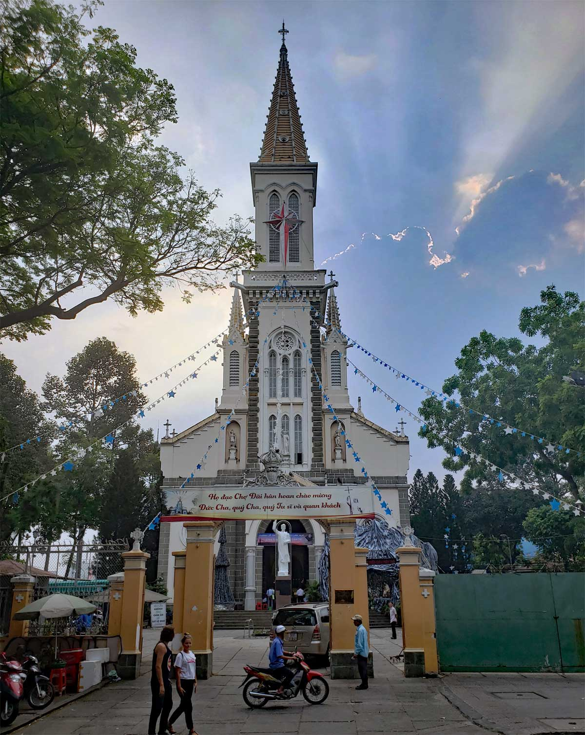 Tan Dinh church in Saigon.