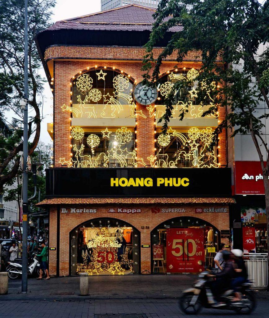 Hoang Phuc decorations.