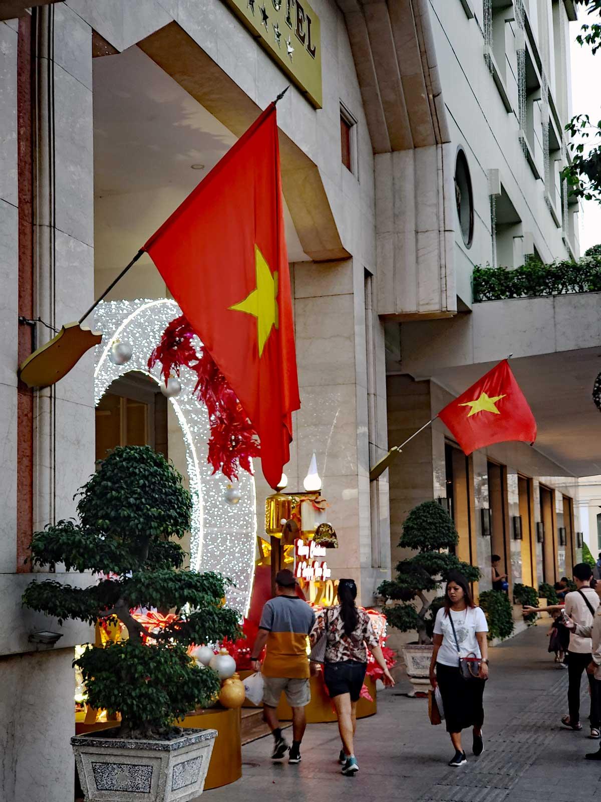 Hotel at Ho Chi Minh Square
