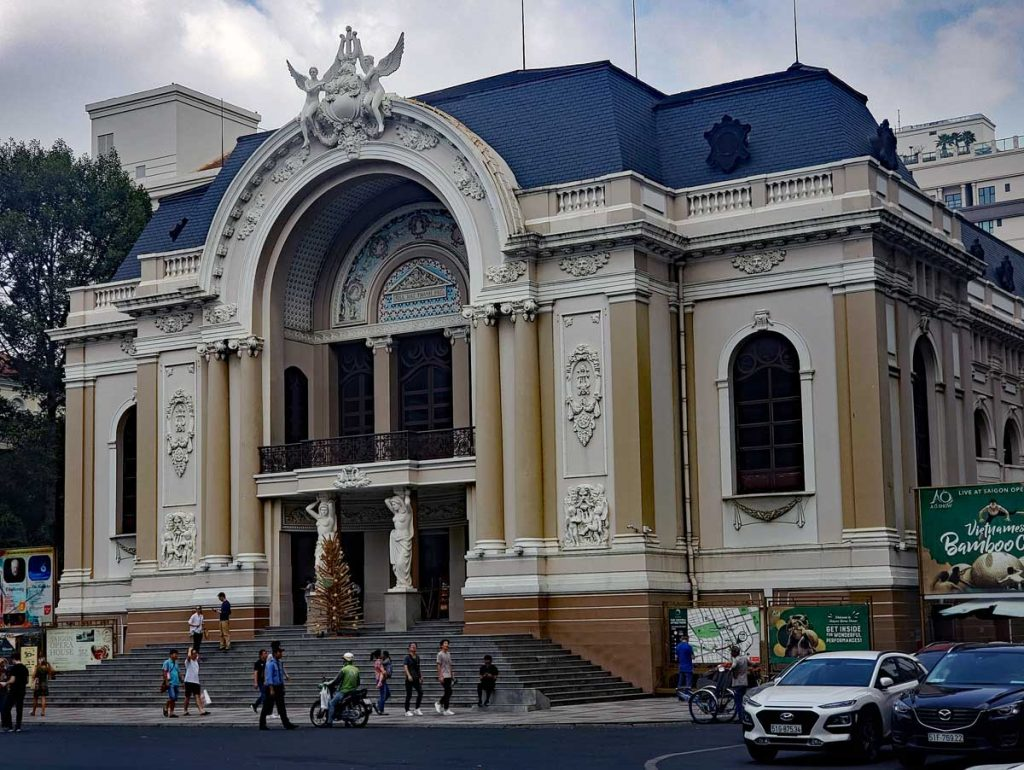 Saigon Opera House.