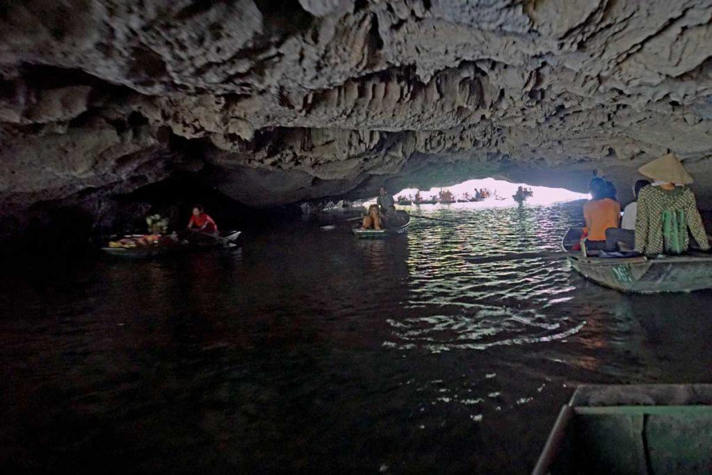 Interior cave view.