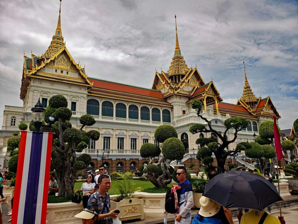 Royal Palace in Bangkok.