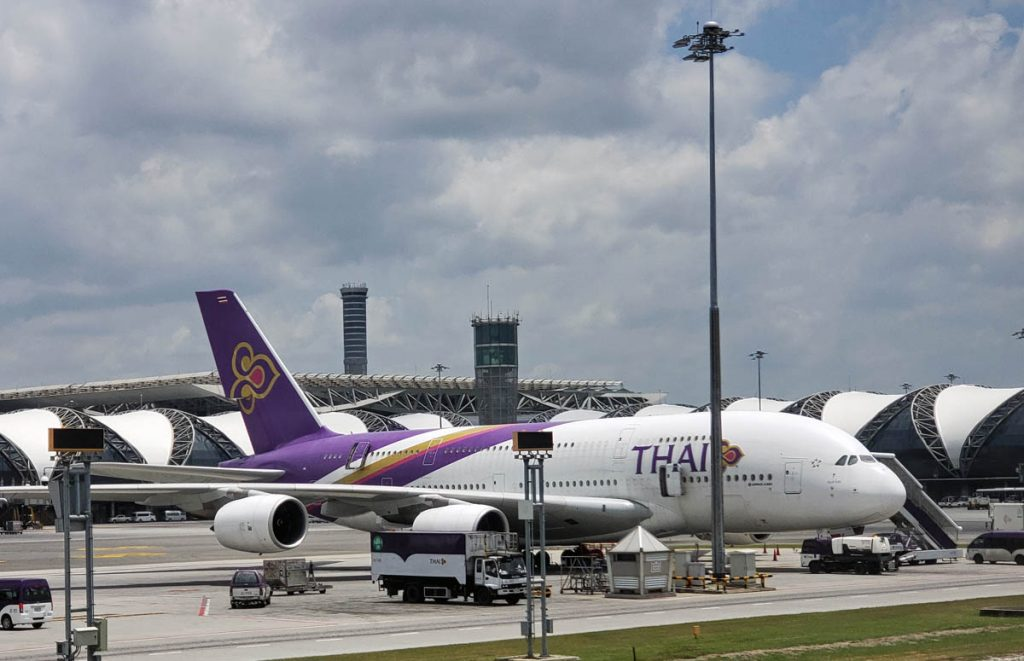 Thai International Airways A380