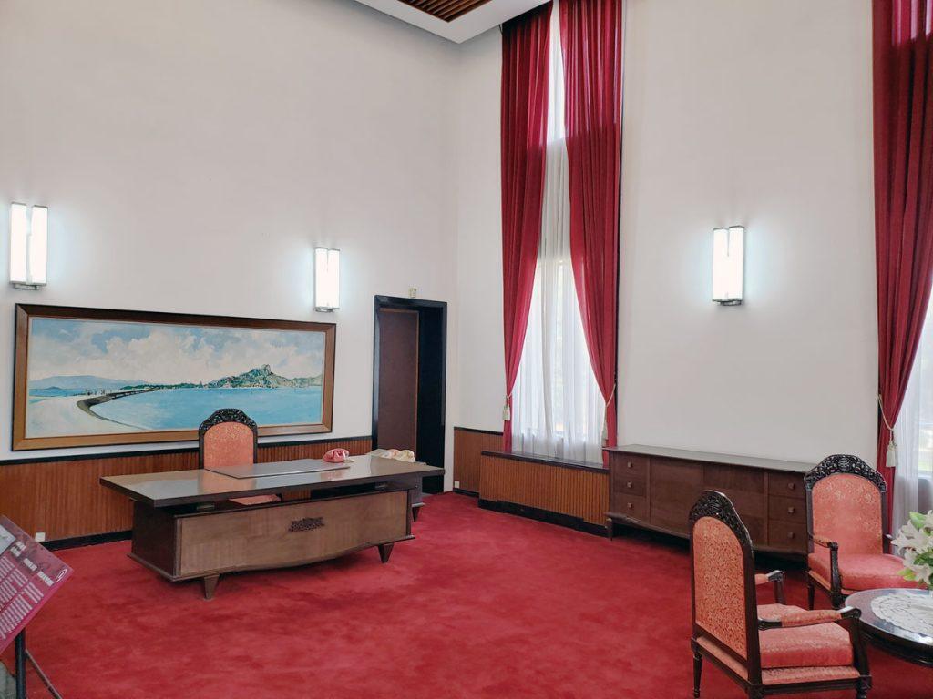 President's office.