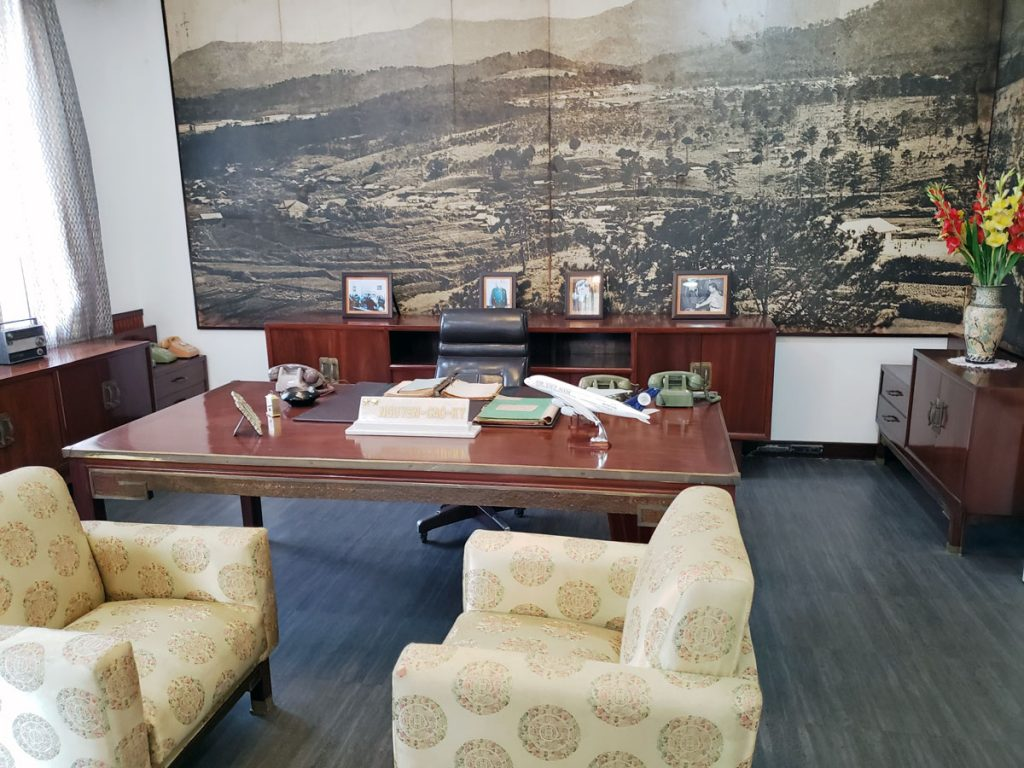 The Vice President's office.