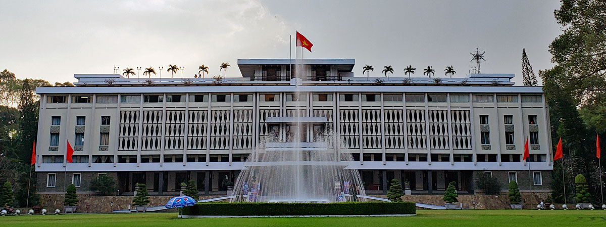 Saigon's Independence Palace and the fall of Saigon
