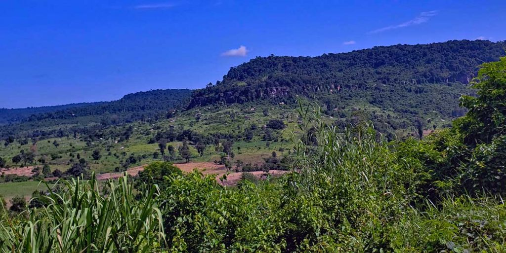 Another look out over the area surrounding the Kulen mountain.
